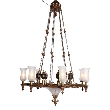 Colza Chandelier of Exceptional Quality c.1850 LC101655
