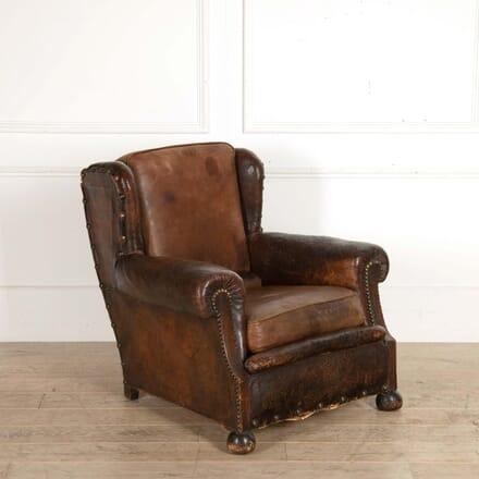 Leather Armchair CH288468