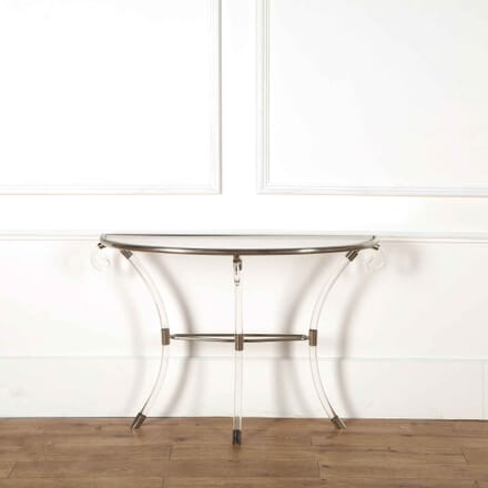 1970s Lucite Console Table CO538191