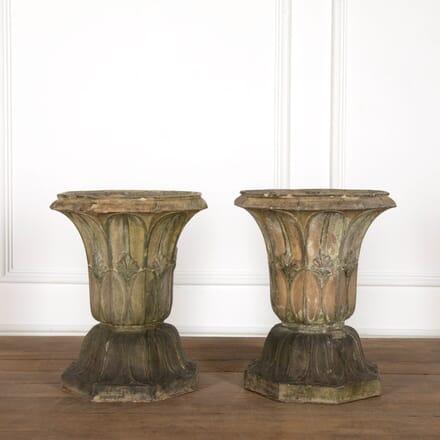 M H Blanchard Terracotta Garden Urns GA098871