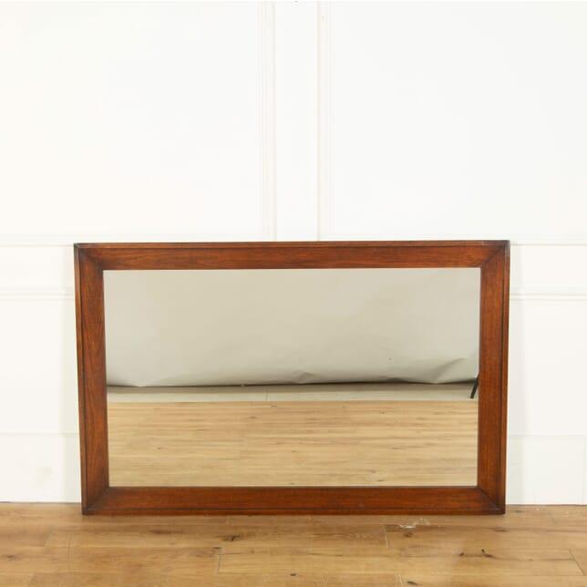 19th Century Mahogany Framed English Mirror MI358310