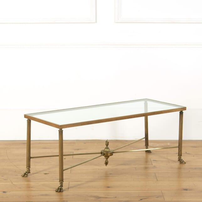 Maison Bagues Style Brass Lions Paw Cocktail Table CT588969