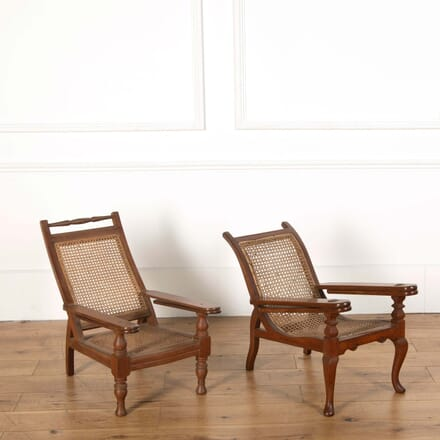 Matched Pair of Miniature Plantation Chairs GA558665