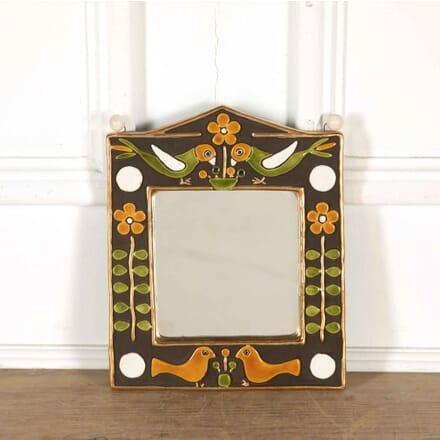 François Lembo Style Ceramic Mirror MI298121