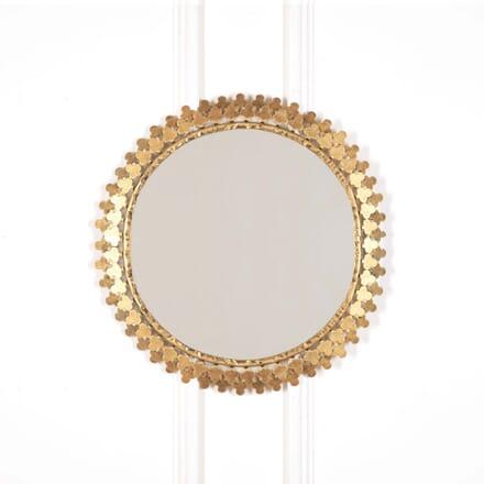 Mid Century Petal Mirror MI638686