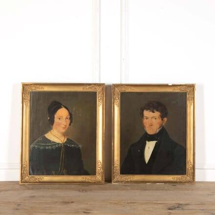 Mr and Mrs French Oil Paintings WD738780
