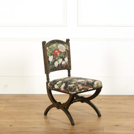 Aesthetic Movement Ebonised  Occasional Chair CH598858