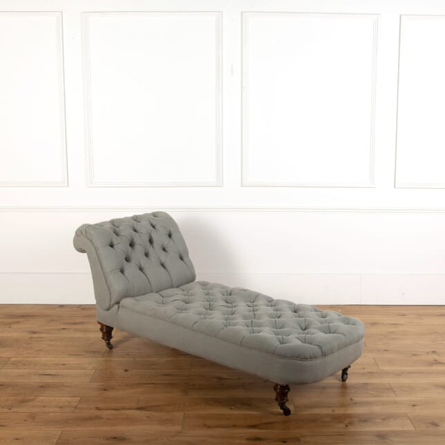 Newly Upholstered Victorian Daybed SB748852