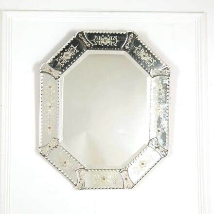 Octagonal Venetian Mirror MI138348