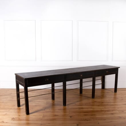 Painted Work/Serving Table CO368090