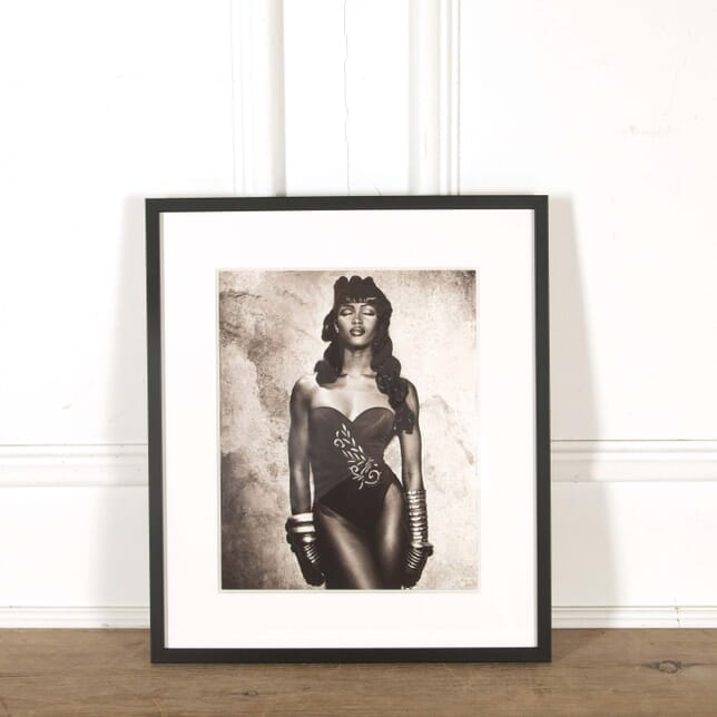 Original Photograph of Naomi Campbell by Karl Lagerfeld WD298576