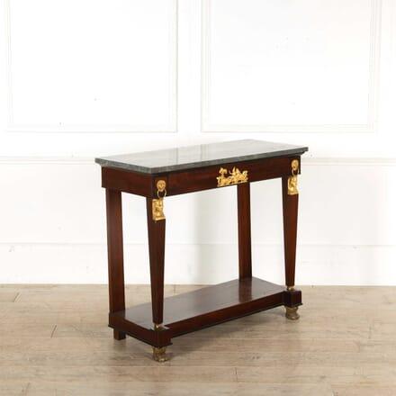 Ormolu Mounted Mahogany Console Table CO398376
