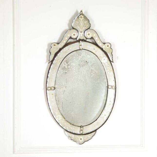 Oval Venetian Mirror MI138349