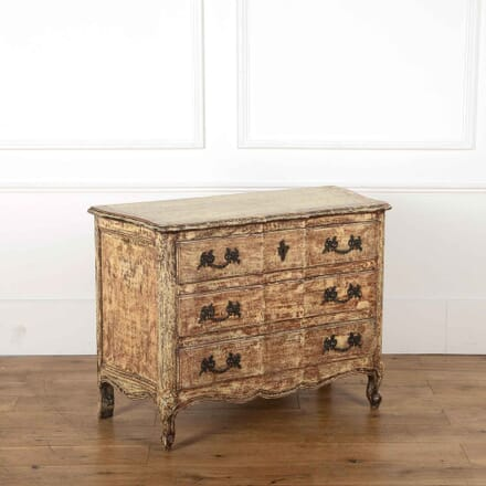 French Painted Commode BD358074