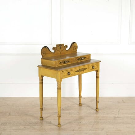 Painted Regency Three Drawer Side Table CO138324