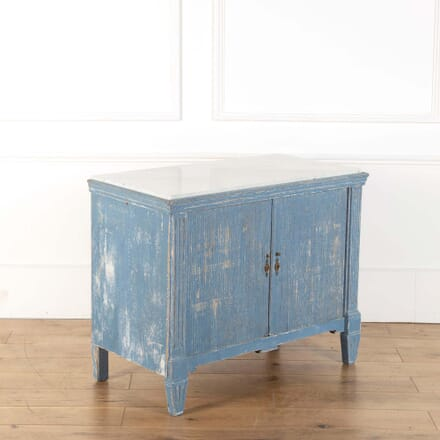 Painted Tambour Cabinet BU368261