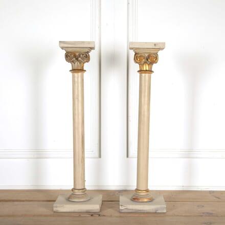 Painted Wooden Columns DA138355