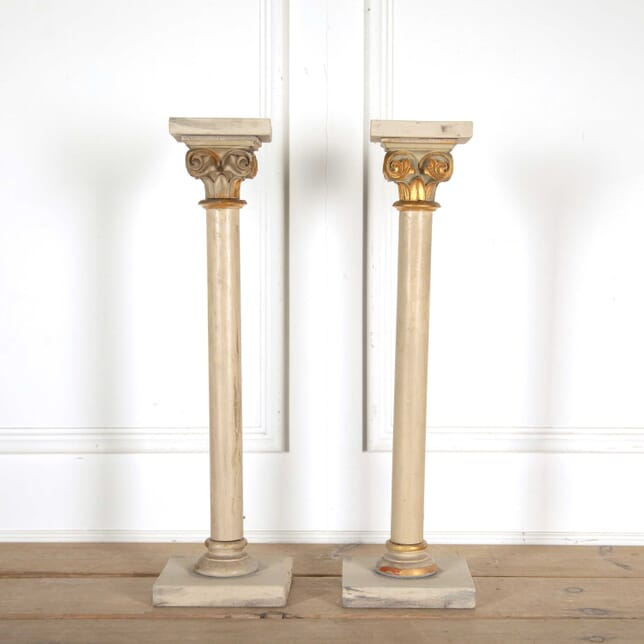 Painted Wooden Columns DA138355
