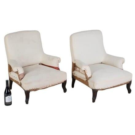 Pair of 19th Century Children's Armchairs CH158005