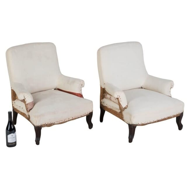 Pair of 19th Century Children's Armchairs CH158005