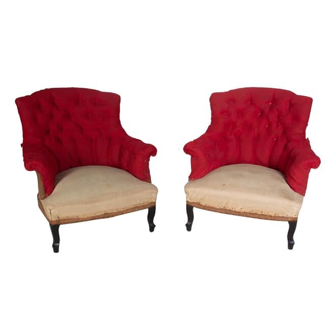 Pair of 19th Century French Armchairs CH158003