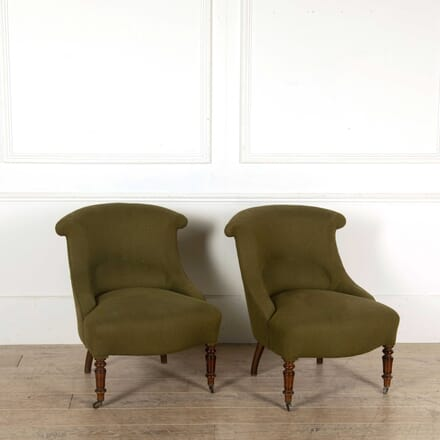 Pair of Bedroom Chairs CH138325
