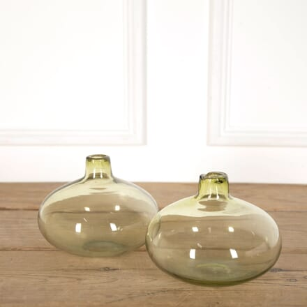 Pair of Coloured Glass Carboys DA998905