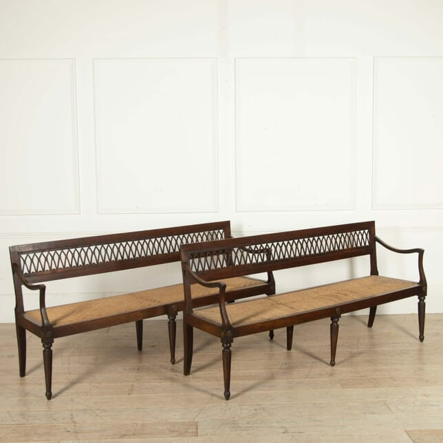 Pair of Directoire Benches SB288455