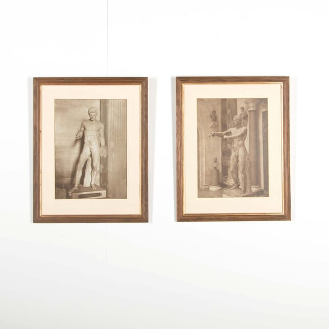 Pair of Early 20th Century Sepia Photographs WD288530