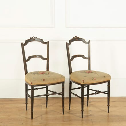 Pair of French Side Chairs CH358304
