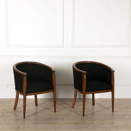Pair of French Tub Chairs BD488244