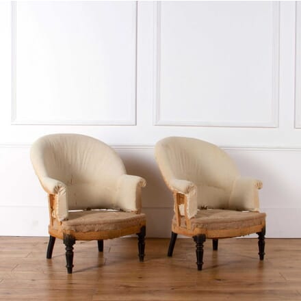 Pair of French Tub Chairs CH638225