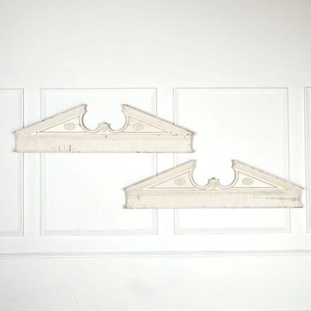 Pair Of George III Neoclassical Overdoors OF098410