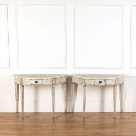 Pair of Italian Console Tables CO738779