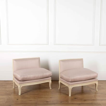 Pair of Low Chairs CH638105