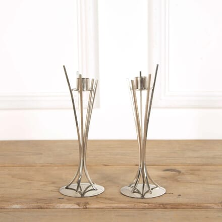 Pair of Modernist Candlesticks DA588619
