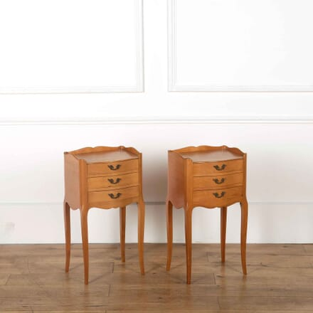 Pair of French Cherrywood Night Stands BD358073