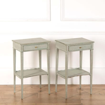 Pair of Painted Bedside Tables BD368267