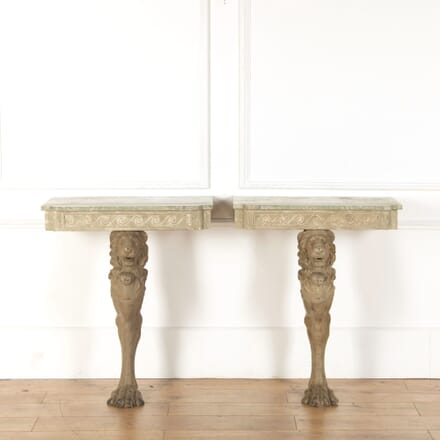 Pair of Painted Console Tables CO368260