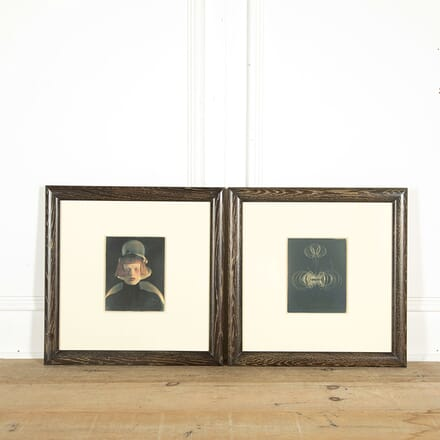 Pair of Photographs of Karen Olsen by Karl Lagerfeld WD298567