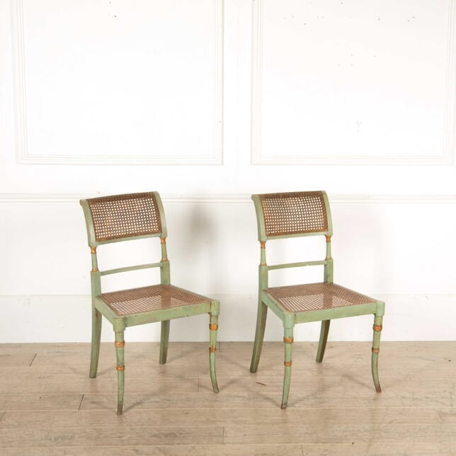 Pair of Regency Side Chairs CH138333