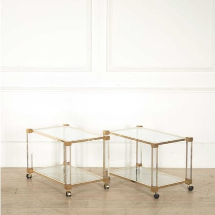 Pair of Trolley Tables by Pierre Vandel TS308250