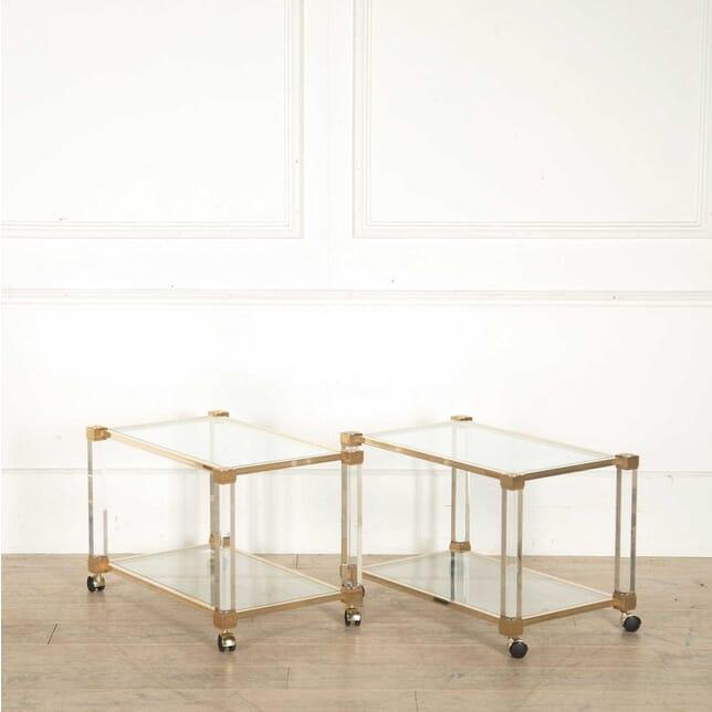 Pair of Trolley Tables by Pierre Vandel TS308250
