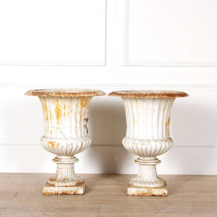 Pair of 19th Century Garden Urns GA748147