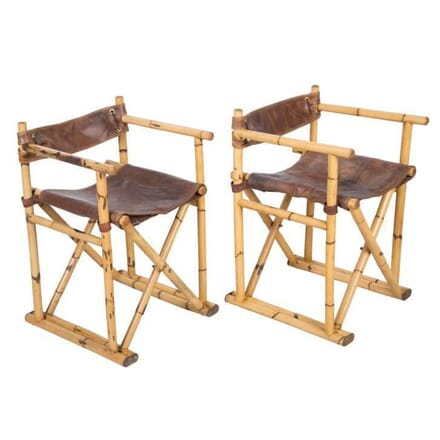 Pair of Vintage Folding Chairs CH158010