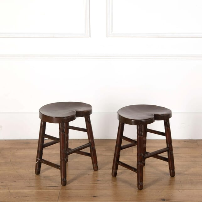 Pair of Wooden Stools ST558646