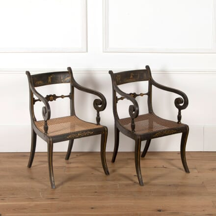 Pair of Early 19th Century Armchairs CH1062398