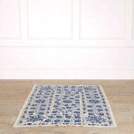 Pale Blue Contemporary Suzani Textile RT998152