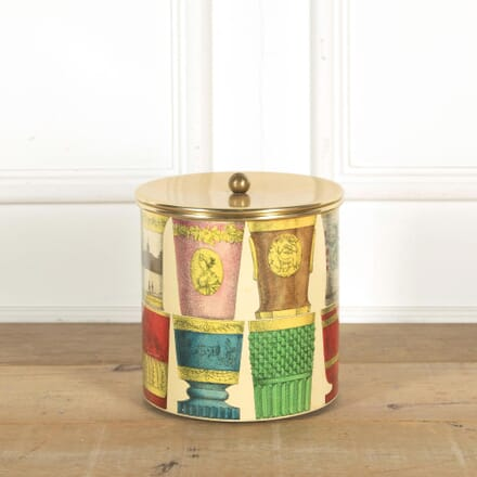 Piero Fornasetti Bohemian Glass Ice Bucket DA298444