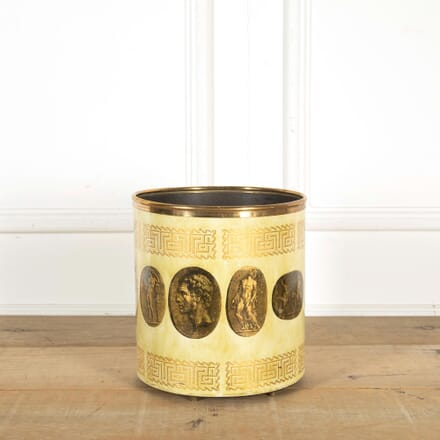 Piero Fornasetti Greek Cameos Wastepaper Basket DA298446